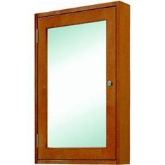 Sunnywood Prod. ET1926M Easton Medicine Cabinet by Sunnywood. $172.72. Easton Medicine CabinetSingle mirrored door medicine cabinet. 19 IN W. x 26 IN H. x 5 IN D. Light maple finish.View Sunnywood Products website for details and warranty information on this product.