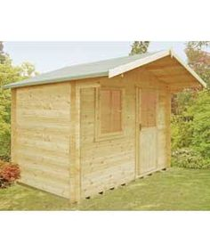 Buy Homewood Selwood Cabin 12 x 12ft at Argos.co.uk, visit Argos.co.uk to shop online for Log cabins