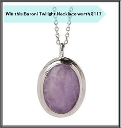 Baroni Twilight Necklace Giveaway - http://chant3llo.com/baroni-twilight-necklace-giveaway/
