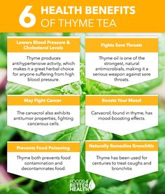 How does Thyme Tea benefit you?