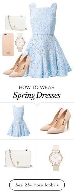 """Spring fling"" by melissa013 on Polyvore featuring Alex Perry, Rupert Sanderson, Dolce&Gabbana, Tory Burch, women's clothing, women, female, woman, misses and juniors"
