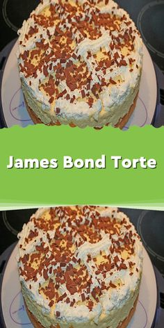 James Bond cake- James Bond Torte Ingredients 4 egg (s) separated 120 g sugar 1 pck.pudding powder (vanilla) for cooking 80 g flour 400 g cream 1 gr. Can / n peaches … - James Bond Cake, Paleo Meal Plan, How To Eat Paleo, Cake Ingredients, Unique Recipes, Yummy Appetizers, Coffee Cake, Chip Cookies, Cake Recipes