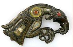 Viking Raven Brooch, Upplandsmuseet/Sweden.: