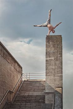 One of my big goals is to do a one handed handstand on the edge of the great wall. Cant wait.