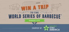 Win a FREE Trip to the World Series of Barbecue and be a BBQ Judge!https://wn.nr/x2sTqp use this link to enter to win. I did