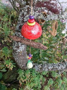 Gartendekoration - Vogelfutterstelle XL - ein Designerstück von Bodenseekeramik bei DaWanda Designer, Christmas Bulbs, Etsy, Holiday Decor, Home Decor, Decoration Home, Christmas Light Bulbs, Room Decor, Home Interior Design