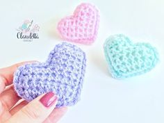 Easy To Crochet 3D Heart - ilove-crochet