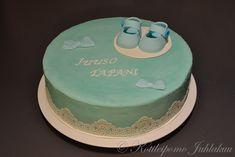 Juuso Tapanin ristiäiskakku Baby Shower, Cake, Desserts, Food, Babyshower, Tailgate Desserts, Deserts, Kuchen, Essen