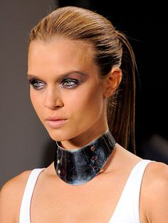 Spring 2014 Best Hairstyles from New York Fashion Week  #hairstyles #haircuts #2014hairstyles Power Ponytails