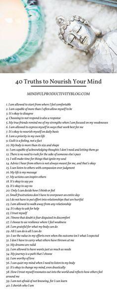 40 Truths