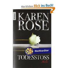Todesstoß: Thriller: Karen Rose
