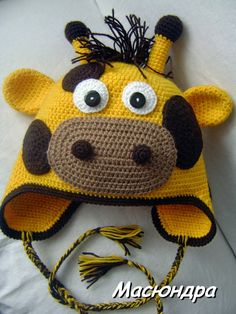Projects Children 55 New Ideas For Knitting Projects Hats Children Crochet Animal Hats, Crochet Baby Beanie, Crochet Kids Hats, Crochet Baby Clothes, Crochet For Boys, Knitting For Kids, Crochet Crafts, Knitting Projects, Crochet Toys