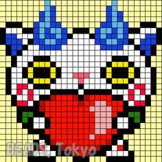 Modele Pixel Art Yo Kai Watch