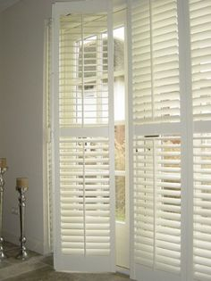 Install repurposed shutters on lounge and dining windows House Inspiration, House Design, Home And Living, Window Treatments Bedroom, House Interior, Interior Shutters, Home, Interior, Home Decor