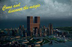 Hipcescu - imaginary city