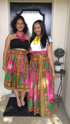 African clothing African skirt Dashiki dashiki maxi door Oludan