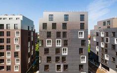 Isolato residenziale a Parigi Asnières-sur-Seine   5+1AA agenzia di architettura