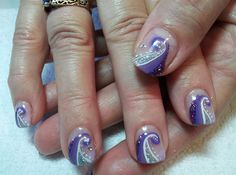 I Love Purple - Nail Art Gallery by NAILS Magazine
