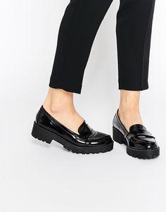 Image 1 ofLondon Rebel Chunky Loafers