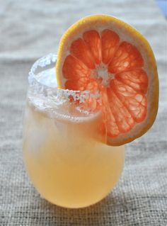 Paleo Paloma   Fed and Fit ...a paleo spin on the tequila grapefruit soda cocktail!