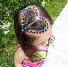 Childrens Hairstyles, Baby Girl Hairstyles, Kids Braided Hairstyles, Hairstyles For School, Headband Hairstyles, Kids Hairstyle, Female Hairstyles, Fast Hairstyles, Young Girls Hairstyles