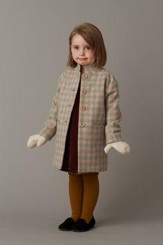 Girl's pendle coat by Caramel Baby & Child Little Fashion, Girl Fashion, Fashion Kids, Cute Girl Outfits, Kids Outfits, Caramel Baby, Cool Kids Clothes, Kids Clothing, Stylish Kids