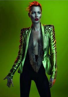 Kate Moss by Mert & Marcus Strawberige: Parisian Vogue
