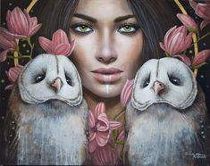 San Francisco Art, Mother Art, Wildlife Paintings, Expo, Surreal Art, Figure Painting, Portrait Art, Face Art, Figurative Art