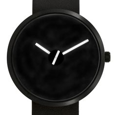 Sometimes (black) watch by Projects. Available at Dezeen Watch Store: www.dezeenwatchstore.com