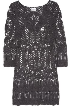 Lisa Maree Intertwined Lives crocheted cotton coverup NET-A-PORTER.COM