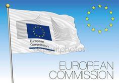 Bandiera di Commissione europea, Unione europea — Vettoriali  Stock © frizio #142087846