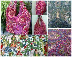 """Bols@ en Gabardina de algodón los motivos de """"Mandalas"""" y canvas la de Frida Kahlo."""
