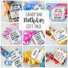 Birthday presents for teachers candy bar sayings for simple birthday gifts fun squared Teacher Birthday Gifts, Birthday Tags, Birthday Candy, Birthday Gift For Him, Friend Birthday Gifts, Best Birthday Gifts, Teacher Gifts, Simple Birthday Gifts, Diy Birthday