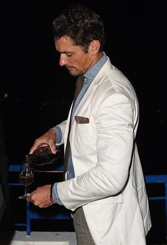 #DavidGandy at the @Chopard Annabel's in Cannes party at the Martinez Hotel || 20/05/15