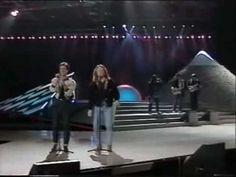 Eurovision 1987 Italy - Umberto Tozzi & Raf - Gente di mare - YouTube