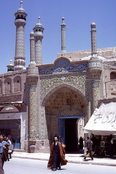fatimah al-ma'sūmah shrine, qom, iran 1969 | islamic architecture