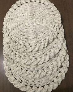 Freeform Crochet, Filet Crochet, Crochet Motif, Crochet Doilies, Crochet Placemats, Crochet Potholders, Diy Crafts Crochet, Crochet Home, Crochet Stitches Patterns
