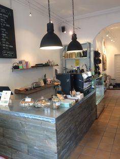 Cool Coffeeshop på Oesterbro Copenhagen  Coffee 'n Shoes