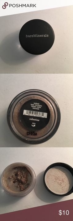 Bare Minerals Celestine Eyeshadow Great condition, only used once. bareMinerals Makeup Eyeshadow