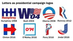 The rise of the single-letter political logo - The Washington Post