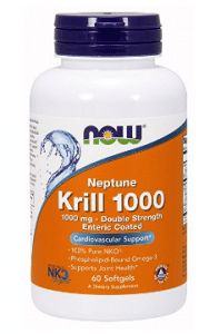 Now Foods Neptune Krill 120 Count mg - Double Strength Pure NKO Phospholipid-Bound Krill Oil, Life Extension, Fish Oil, Nutritional Supplements, Omega 3, Pure Products, Foods, Diving, Top