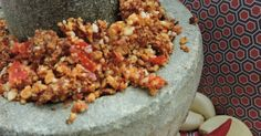 Mildly Indian: Shengdhana thecha/ spicy peanut dry chutney