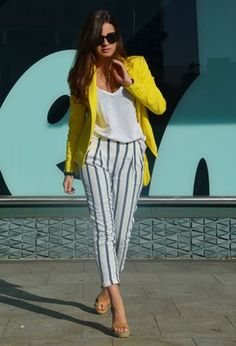Look by @lucelia1981 with #short #casual #zara #summer #skirt #blazer #verano #jacket #oficina #pants #spring #primavera #zapatos #trabajo #blusa #pantalones #chaquetas #formal #chic #streetstyle #chaqueta #white #americana #blazers #mostaza #yellow #green #amarillo #shirts #camiseta #classy #fashion #outfit #tshirts #love #outfits #look #looks #whitetshirts #yellowblazers.