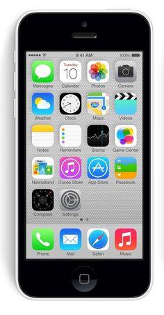 Apple iPhone 5C White 16GB Unlocked GSM Smartphone (Certified Refurbished) @ browardventures.com