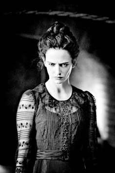 Vanessa Ives penny dreadful victorian costumes