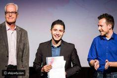 فيديو السوري عبد الرحمن الأشرف يخترع طريقة تواصل بدون إنترنت أو شبكة! @alqiyady