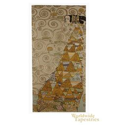 The Waiting I (Right) - Klimt $1127.00  3 panels
