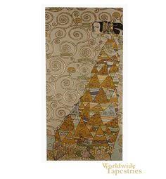 The Waiting I (Right) - Klimt $1127.00  3 panels