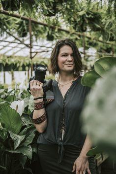 Branding Photography, Website Portraits, Greenhouse Session, Photographer Headshots, Charlotte NC