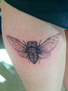 Cicada Wing Tattoo